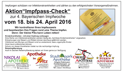 Aktion Impfpass-Check
